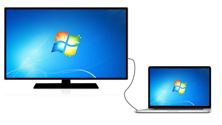 اتصال لپ تاپ به تلویزیون با چند راهکار ساده