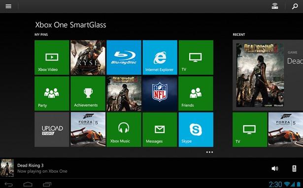 از برنامه Smartglass برای کنترل Xbox One استفاده کنید