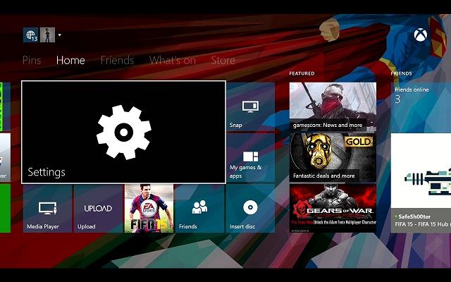 تصویر زمینه پس زمینه Xbox One را تغییر دهید