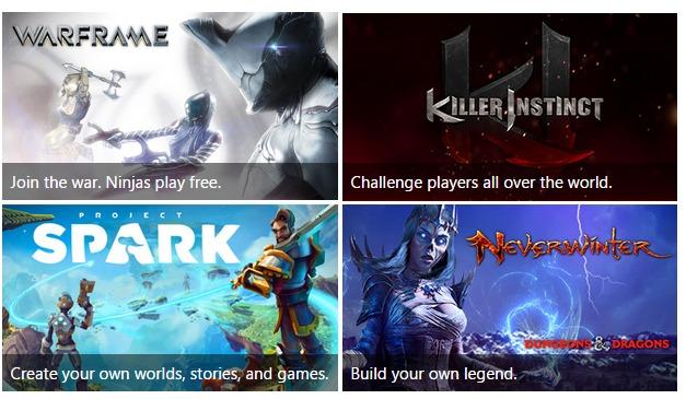 بازی رایگان (F2P) برای Xbox One