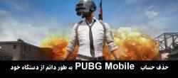 حذف حساب PUBG Mobile به طور دائم از دستگاه خود