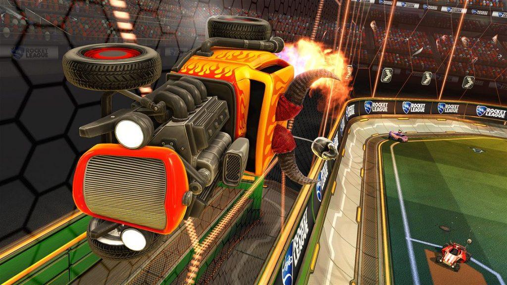 بازی آنلاین برای کامپیوتر Rocket League