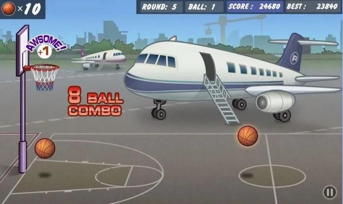 بازی بسکتبال آفلاین اندروید Basketball Shoot