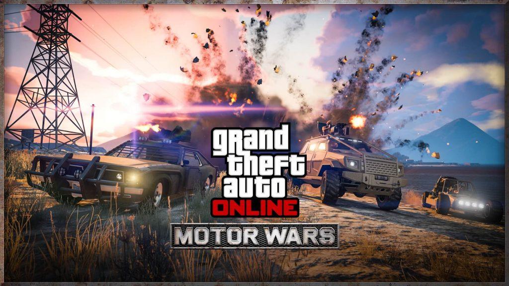 Grand Theft Auto V: War Wars