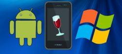 اجرای برنامه های ویندوز در اندروید با Wine