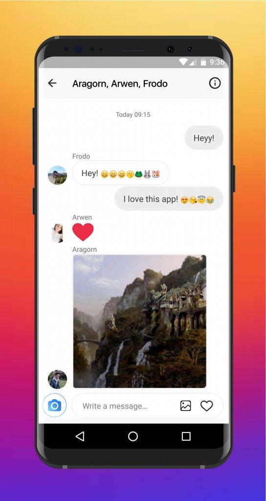 ساخت چت جعلی اینستاگرام با InstaFake