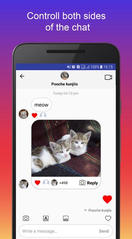ساخت اسکرین شات جعلی اینستاگرام