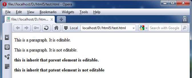 صفت های عمومی در HTML5