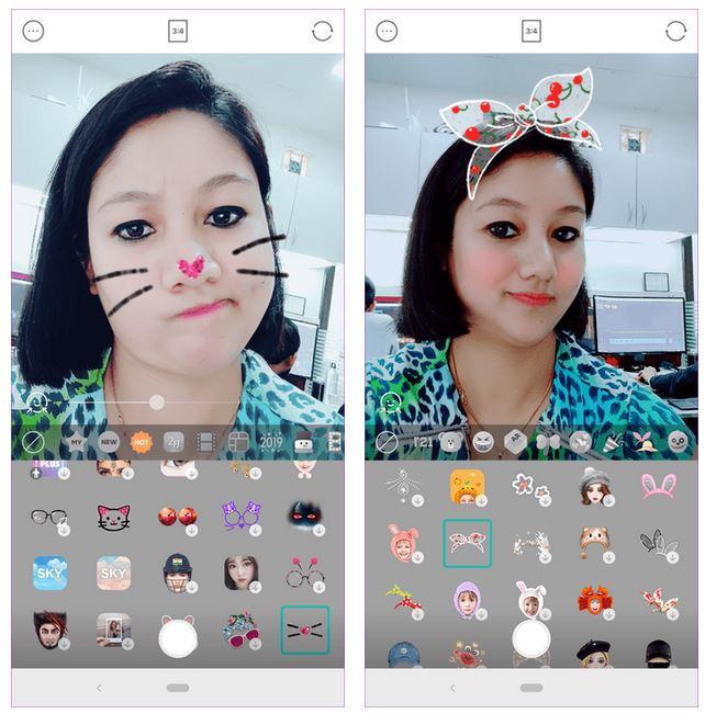 فیلتر و تعویض چهره برای اینستاگرام
