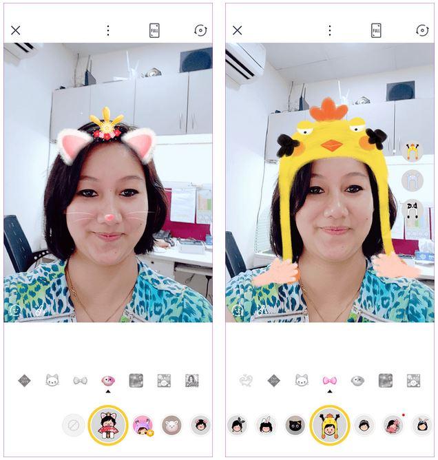ماسک پروانه اینستاگرام