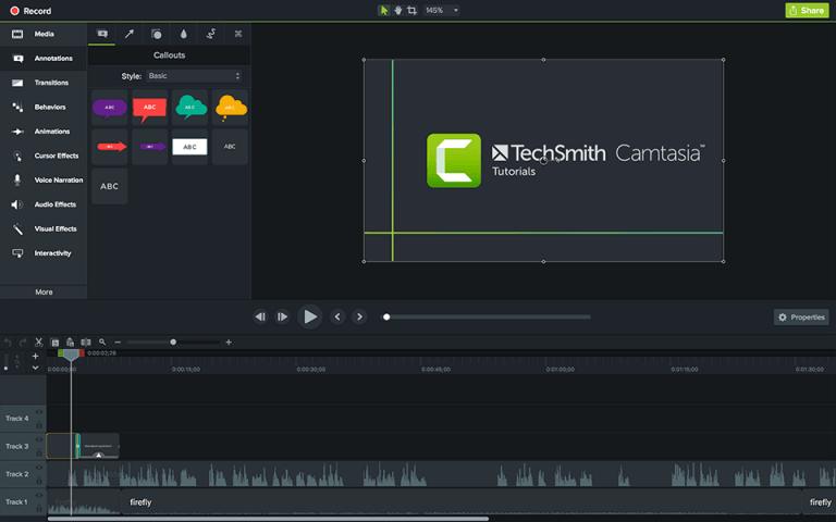 نحوه حذف پرده سبز از فیلم با Camtasia