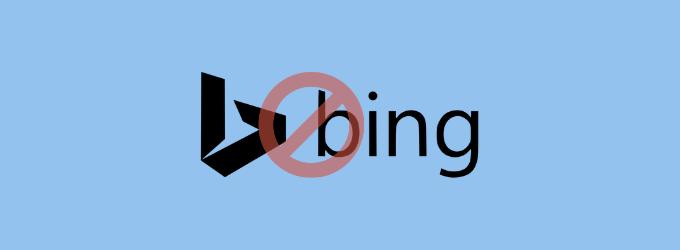 حذف Bing از ویندوز 10