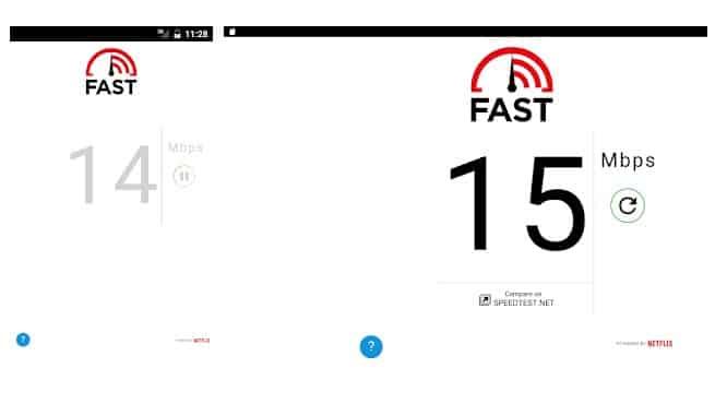 تست سرعت WiFi
