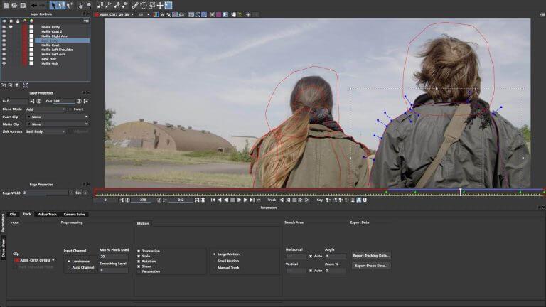 برنامه HitFilm Express