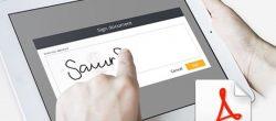 امضای PDF  الکترونیکی در ویندوز ،  مک ، آیفون ، اندروید
