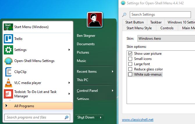 نحوه تغییر ظاهر ویندوز 10 به مانند ویندوز 7