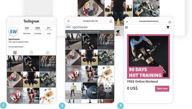 حساب کاربری اینستاگرام خود را برای لینک دادن به پست ها آینه کنید