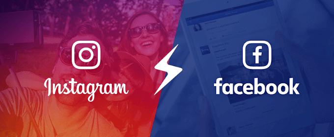 اتصال اینستاگرام به فیس بوک