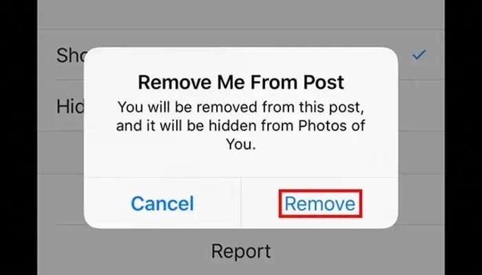 برچسب های خودتان را از عکس ها حذف کنید