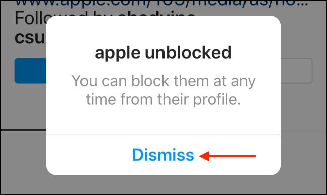 از بلاک درآوردن اینستاگرام