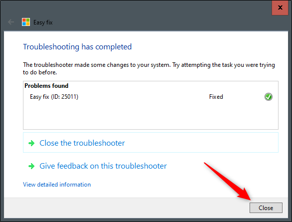 Easy Fix Microsoft