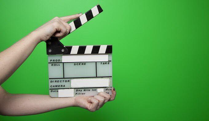 حذف صفحه سبز از فیلم