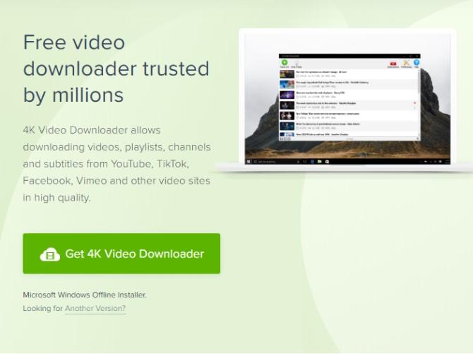 4K Video Downloader را نصب کنید