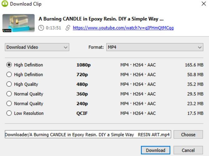 فیلم YouTube را از طریق دسک تاپ خود دانلود کنید