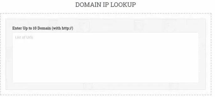 Domain IP Lookup - Small Seo Tools