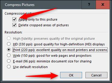 کاهش حجم فایل ورد