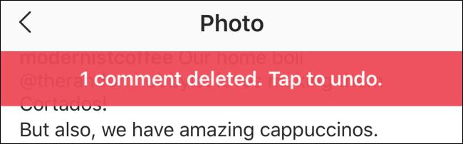 یک نظر اینستاگرام را در iPhone و Android حذف کنید