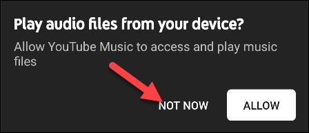 فایل های موسیقی یوتیوب از دستگاه