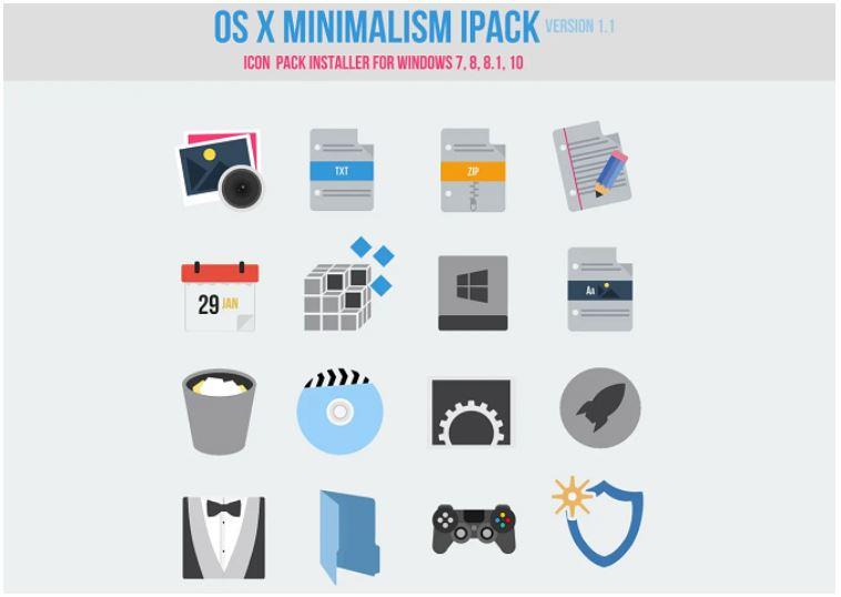 OS X Minimalism iPack