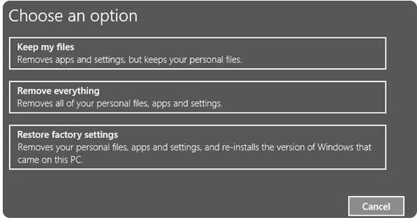 تنظیمات ویندوز 10 را بازیابی کنید