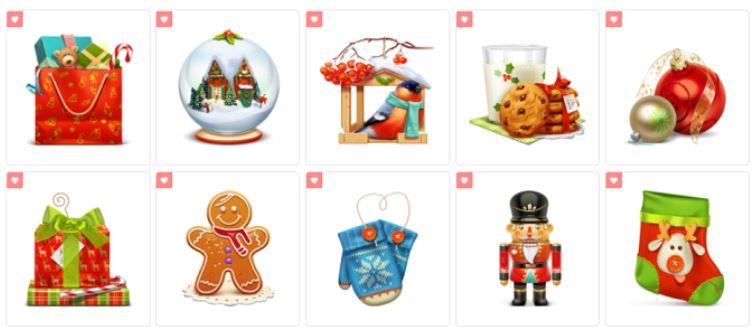 نمادهای کریسمس