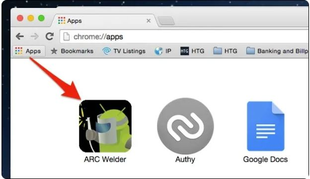اجرای برنامه های اندروید در Google Chrome