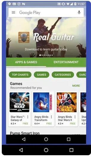 صفحه Android را کنترل کنید