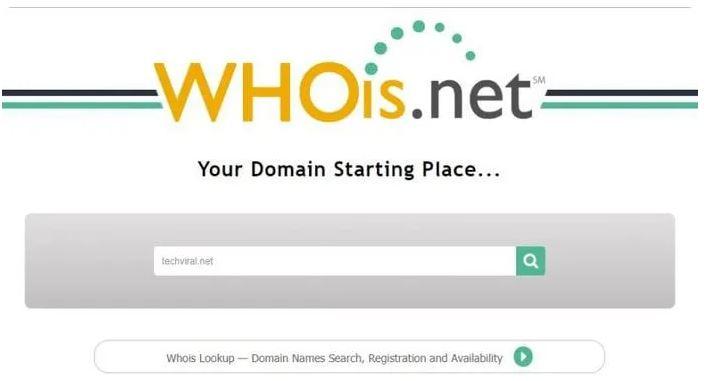 استفاده از سیستم WHOIS