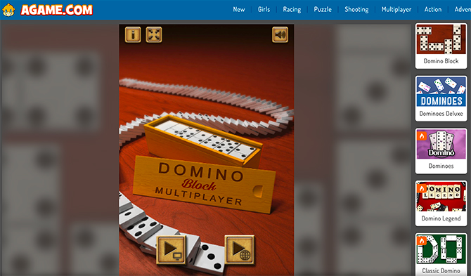 Agame.com – Domino Games