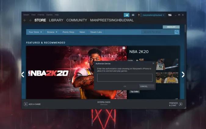 برنامه Steam Link را جفت کنید