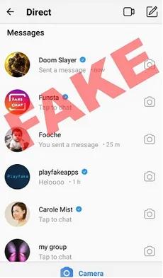 آیا می توانید DM اینستاگرام را جعلی کنید؟