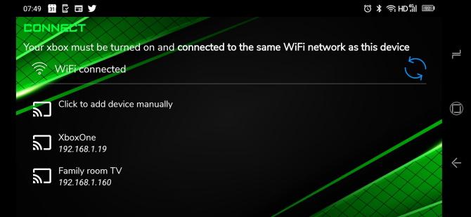 کنترل از راه دور Xbox با Xbstream