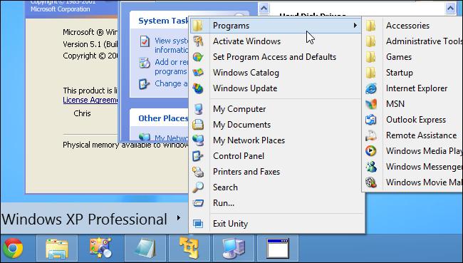 نحوه دریافت حالت Windows XP در ویندوز 8