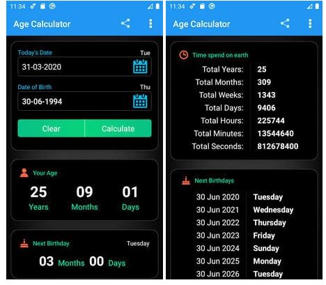 Age Calculator by GeekMindApps