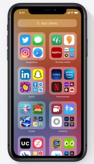 ویژگی های iOS 14