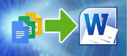 نحوه تبدیل Google Docs به Microsoft Word