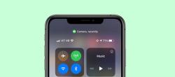 نقطه سبز در iOS 14 به چه معناست؟