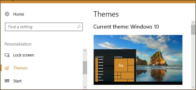 آموزش نصب تم های دسک تاپ در ویندوز 10