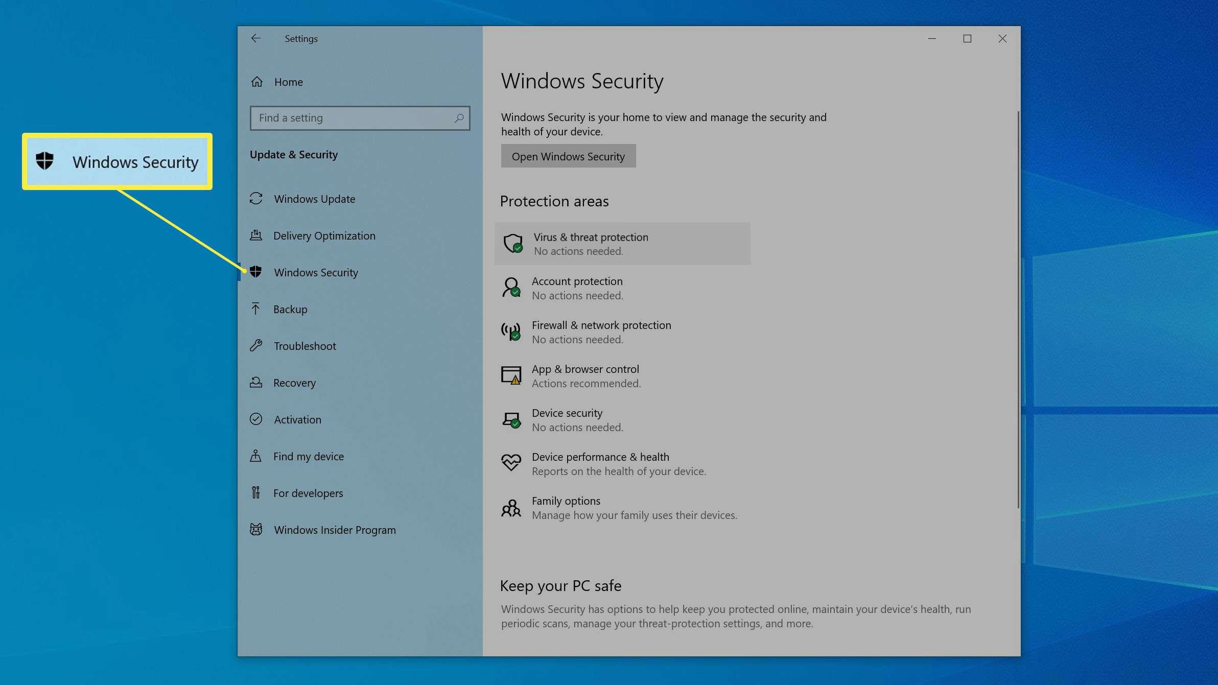 لپ تاپ خود را برای بدافزار اسکن کنید
