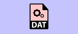 نحوه باز کردن فایل های DAT در ویندوز ۱۰